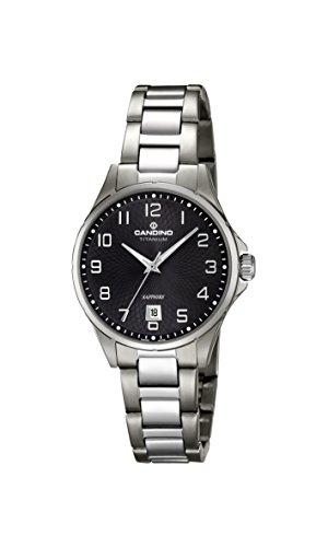 Candino Womens Analogue Classic Quartz Watch with Titanium Strap C4608/4