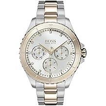 726230907913 Hugo Boss Watch Reloj Multiesfera para Mujer de Cuarzo con Correa en Acero  Inoxidable 1502446