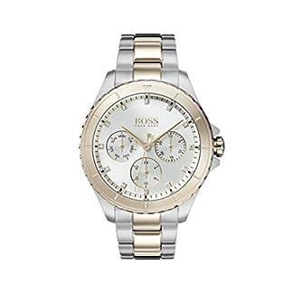 Hugo Boss Watch Reloj Multiesfera para Mujer de Cuarzo con Correa en Acero Inoxidable 1502446