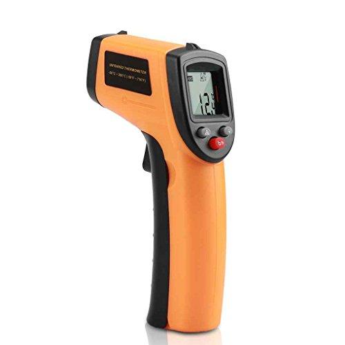 Zerama LCD-Digital-IR Infrarot-Temperaturmessgerät Punkt-50-330 Grade Kontaktthermometer GM320
