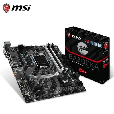 Placa Base Gaming MSI H270M BAZOOKA mATX LGA1151