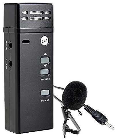 McGrey UB-2G4 émetteur radio de poche bodypack 2.4 GHz