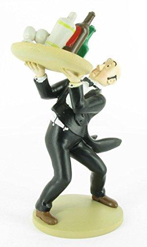 Figura de colección Tintín Néstor mayordomo 15cm Moulinsart 42189 (2014)