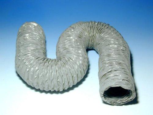 Flexibler Luftschlauch (Flexibler Kunststoff-Luftschlauch, ausziehbar bis max. 2 m, temperaturbeständig)