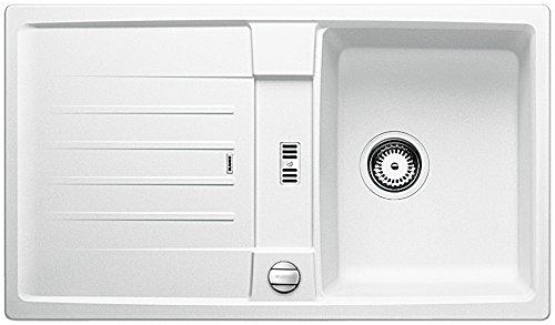 Blanco Lexa 45 S Küchenspüle, Silgranit PuraDur, weiß, 514654