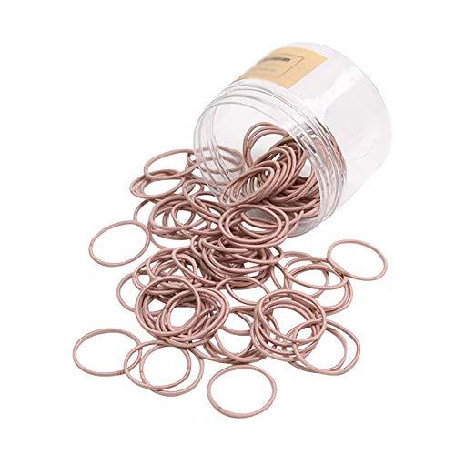 DIYOO 100 Elastische Haarbänder 2mm Haargummis Bobbles Gummibänder Haarbänder Pferdeschwanz Kein...