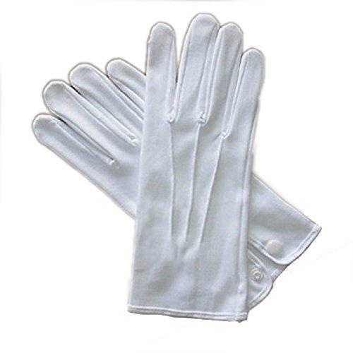Alan Sloane Weiß Kostüm Handschuhe W/O (Kostüme 1050)