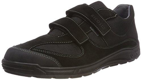 RICOSTA Herren NINO Sneaker, Schwarz 095, 42 EU Boys-school-sneakers