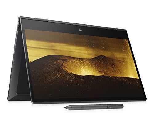 HP Envy x360 15-ds0000ng (15,6 Zoll / FHD IPS Touch) Convertible Notebook (AMD Ryzen 7 3700U, 8GB DDR4 RAM, 256GB SSD, AMD Radeon RX Vega 10, Windows 10 Home) schwarz