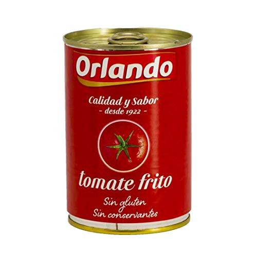 Preisvergleich Produktbild Orlando Tomate Frito Gebratene Tomaten 400 gr. - [Packung mit 12]