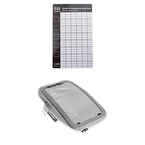 D DOLITY Taktatische Pouch Handy Tasche mit Magnetschraube Auflage Diagramm Matten Reparatur Werkzeug Halter Für IPhone