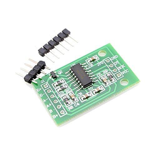 2HX711Gewicht, Druck, Kraft, Drehmoment und Belastung Messung Sensor-Modul A/D Analog/Digital Konverter Chip von Optimus Elektrische