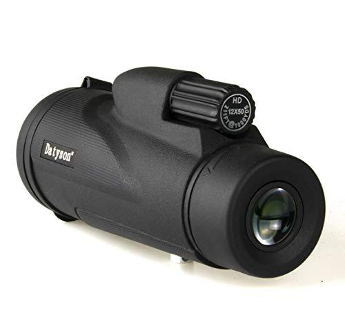 LFFCC Monocular 10X40 High Power Monoculars Scope Telescope - wasserdichtes nebelfestes FMC-Objektiv und Bak4-Prisma für die Vogelbeobachtung von Wildtieren