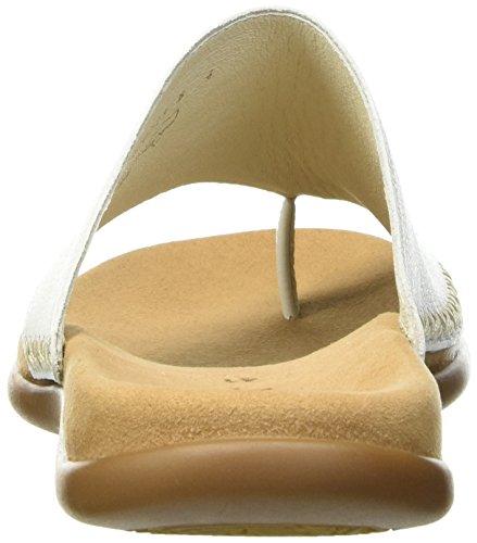 Gabor Ladies Jollys Muli Bianco (pelle Bianca)
