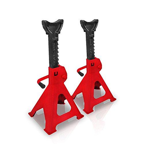 Preisvergleich Produktbild Pandamoto Scheren-Wagenheber mit Handkurbel, für Auto/ Lieferwagen/ Garage, Heimgebrauch