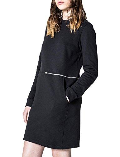 cheap-monday-womens-stroke-womens-black-dress-in-size-m-black