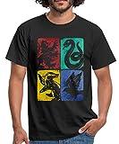 Photo de Harry Potter Maisons Poudlard T-Shirt Homme par Spreadshirt