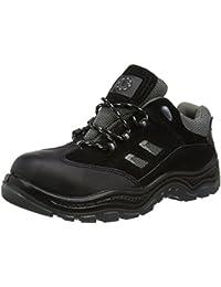 Security Line 4115 - Botas de Cuero adultos unisex, color Negro, talla 42