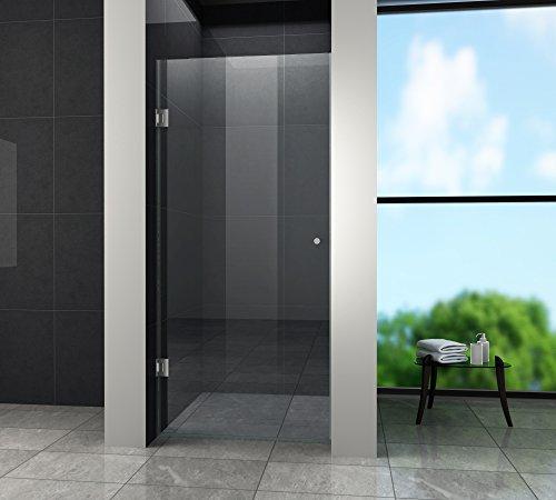 Nischentür BASIC 80 x 190 cm - Beschlag-dusche-kopf