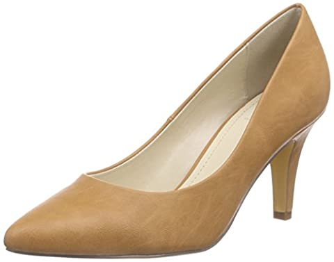 Another Pair of Shoes PriscilaaE2, Damen Pumps, Braun (mid brown21), 39 EU