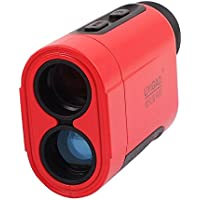 De mano de doble lente del objetivo Modo de exploración monocular del telémetro 6X 600M