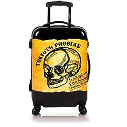 Maleta de cabina (SIN cargador) equipaje de mano 55x40x20 maleta juvenil trolley de viaje Ryanair Easyjet Maleta de Viaje Rígida PHOBHIAS TOKYOTO Luggage (sólo maleta)