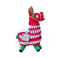 Blest Guest Christmas Loot Llama Plush Stuffed Toy Doll Figure, Troll Stash Animal Alpaca Gift for Kids Girls Boys Children (M)