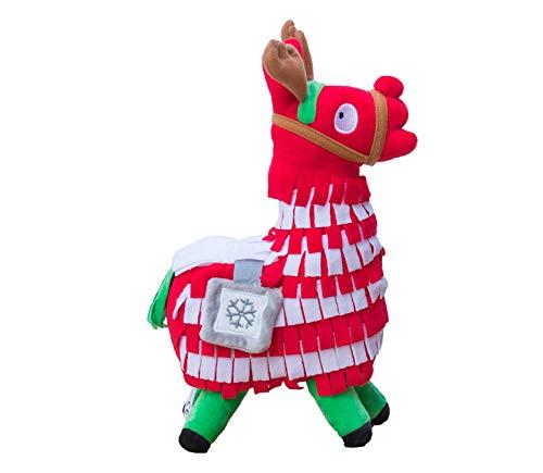 Blest Guest Weihnachten Loot Lama Plüsch-Spielzeug-Puppe Figur, Troll Stash Tier Alpaka-Geschenk für Kinder Mädchen Jungen Kinder (L)