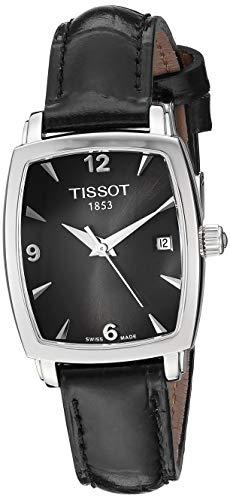 Tissot Reloj Analógico para Unisex Adultos de Cuarzo con Correa en Cuero T057.910.16.057.00
