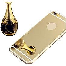 Funda iPhone 6/6s,Dosige iPhone 6/6s Carcasa con,Espejo Fundas Para iPhone 6/6s Oro