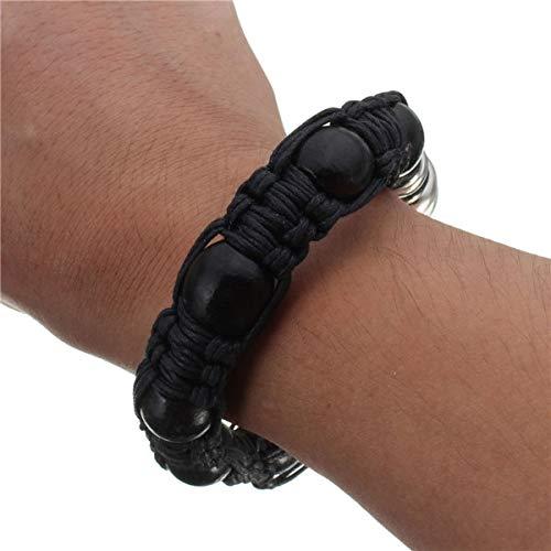Aprigy - Tragbare Metall-Armband Rauchpfeife Jamaika Rasta Weed Rohr mischte 3 Farben Einzelhandel Männer/Frauen-Geschenk-Förderung [Schwarz ] (Weed Pipe-armband)