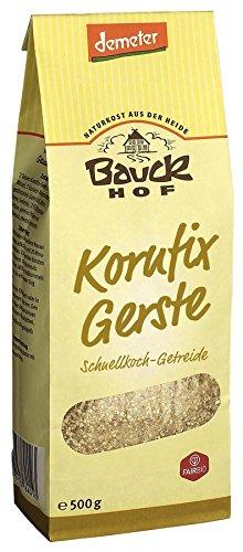 """Bauckhof Gersten-Schnellkochgetreide """"Kornfix"""" (500 g) - Bio"""