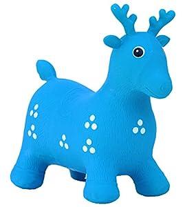 HAPPY GIAMPY Ciervo Azul Juego Inflable