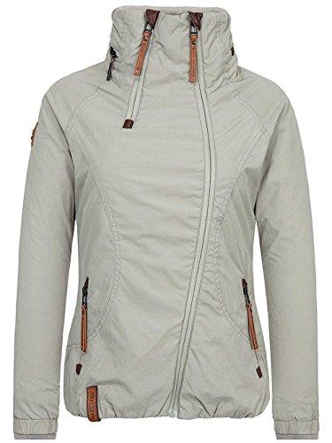 Naketano Damen Jacke Forrester Jacket, schlamm, XL