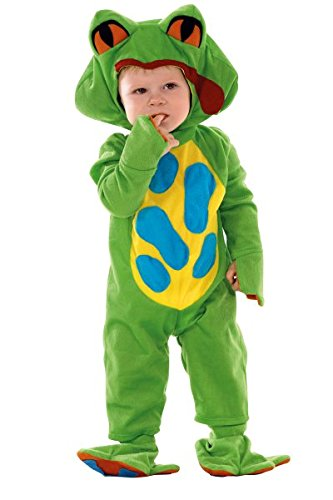 Baby Kostüm Frosch, grün - Froschkostüm für Kleinkinder, (Baby Ideen Kostüm Und Halloween Mädchen Mutter)