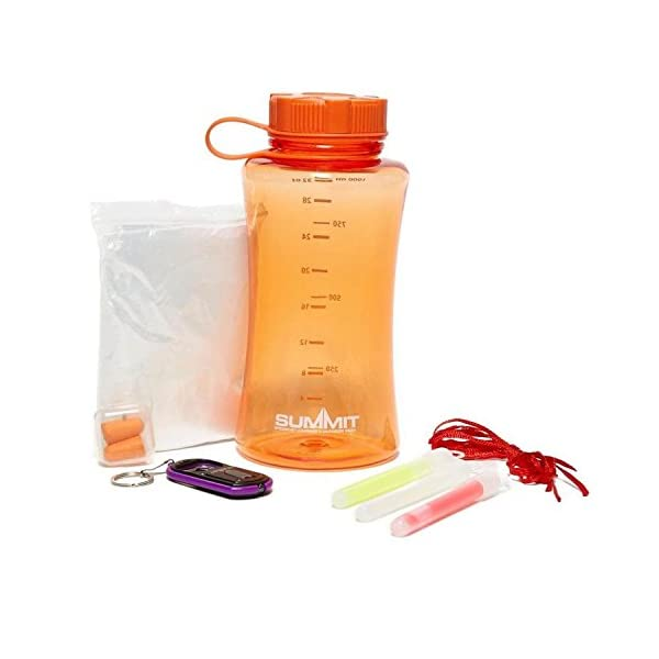 TentSpares THE ESSENTIAL MUSIC FESTIVAL OUTDOOR CAMPING DOFE SURVIVAL KIT FUN GIFT SET WITH JUICE BANK 3
