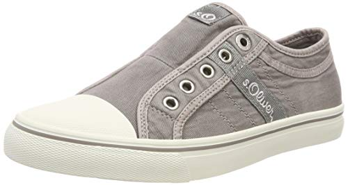 s.Oliver Damen 5-5-24635-22 210 Slip On Sneaker Grau (Lt Grey 210)), 39 EU