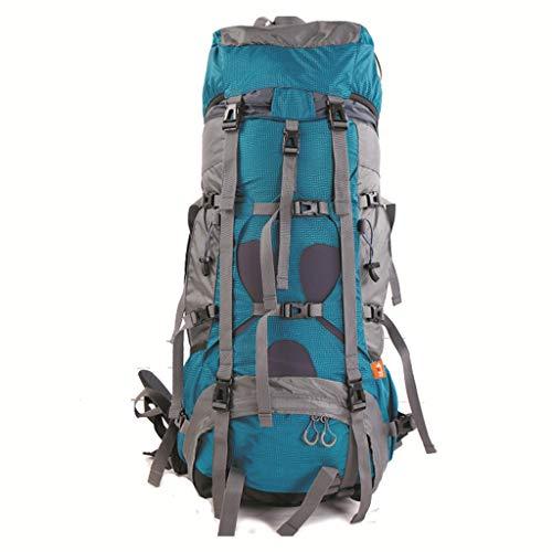 85L Multifuncional Bolsa de montañismo al Aire Libre Senderismo Mochila Hombres y Mujeres Mochila de Camping (Azul) (Color : B)