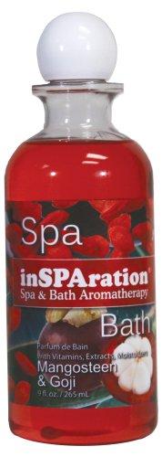 Duft Öl 2 Unzen Flasche (InSPAration Spa und Bad Aromatherapie 376x Spa Liquid, 266ml, Mangosteen und Goji)