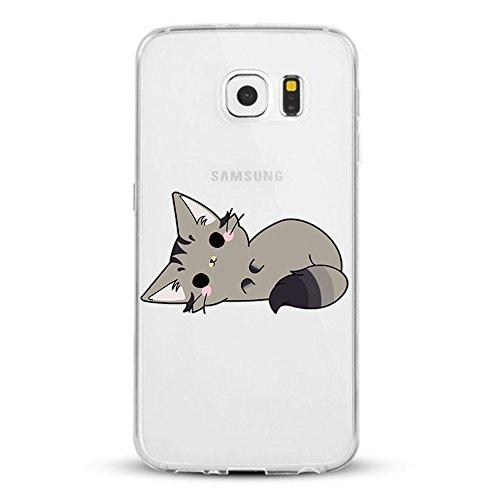 【Modelo aplicable】    Encaja perfectamente en el Samsung Galaxy S6. para exhibir su diseño y su forma natural.    【Material】    Poliuretano termoplástico flexible (TPU). El material de TPU de alta calidad proporciona un agarre suave y cómodo de Sa...