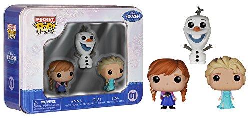 Disney congelado bolsillo pop! mini figuraa en vinilo 3-pack estaño
