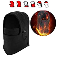 Auplew Balaclava Beanie Winter Hat Motorcycle Snowboard Windproof Cold Protection Ski Mask Girl Face Mask Full Face Mask