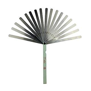 AHL 17 Blade 0.02-1mm Metal Feeler Gauge Measuring Tool 200mm