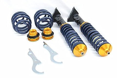 Supeedmotor réglable Coilovers Kits de suspension pour 92–98BMW Série