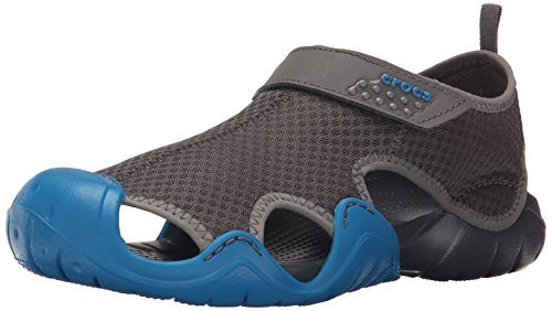 crocs Herren Swiftwater Sandal M Grau (Graphite/Ultramarine)