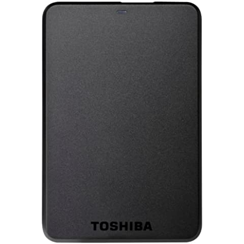 Toshiba StorE Basics (HDTB110EK3BA) - Disco duro externo de 1 TB (USB 3.0, 2.5