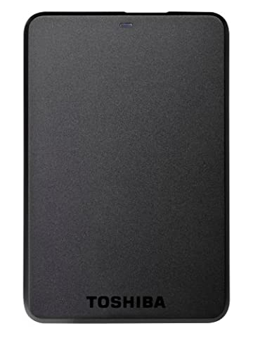 Toshiba Stor.E Basics Disque dur externe portable 2 To USB 3.0 / USB 2.0 Noir