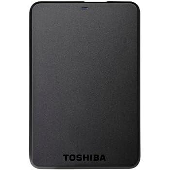 Toshiba HDTB110EK3BA 1TB Stor.E Basics USB 3.0 2.5 Inch External Hard Drive - Black