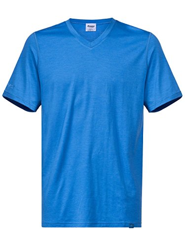 Bergans Bloom Wool Tee Shirt Men - Merinoshirt athensblue