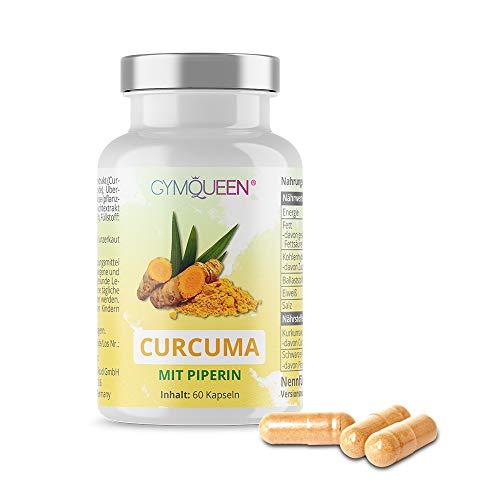 GymQueen Curcuma 2 Monate (60 Kapseln) -